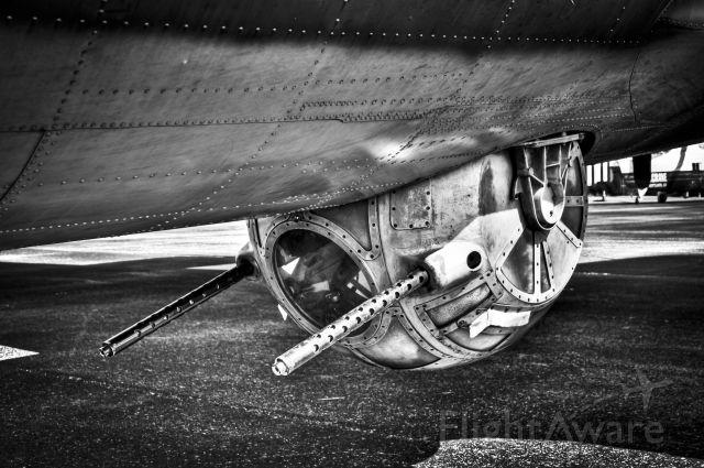 Boeing B-17 Flying Fortress (N3703G) - Memphis Belles Belly Turret
