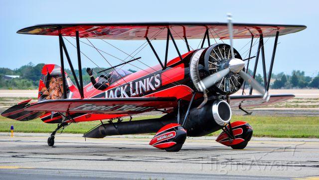 N32KP — - Screamin Sasquatch taxiing out for a performance at RI Air Show 2016
