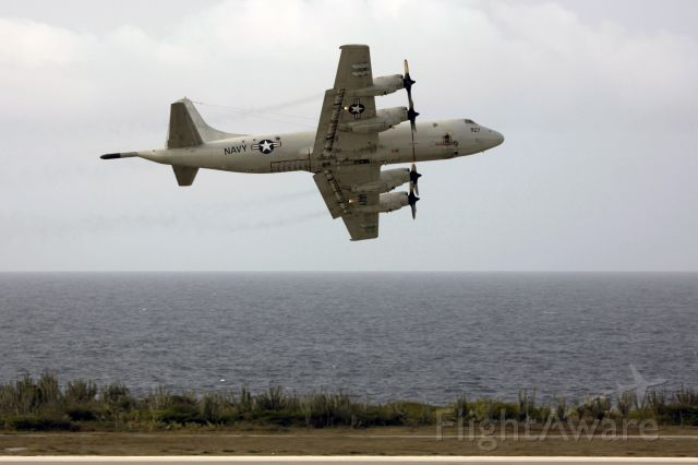 Lockheed P-3 Orion (15-8927) - Quick left turn departure RWY11!!