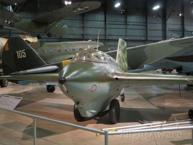 19-1095 — - Messerschmitt Me163 Komet @ WPAFB