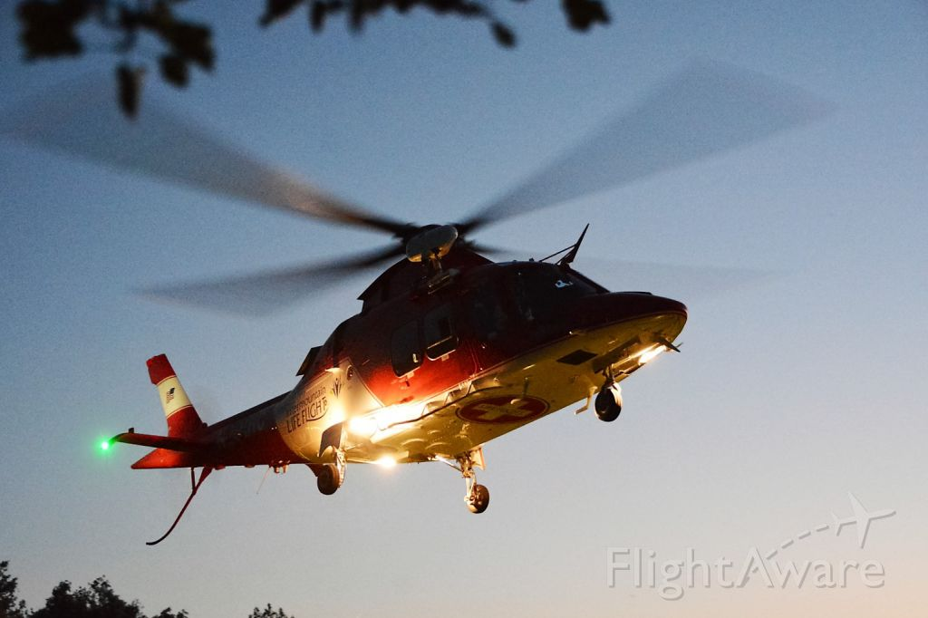 — — - Life Flight to the rescue!