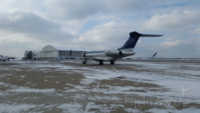 Bombardier Global 5000 (N636JS) - Allegheny county airport, West Mifflin Pa