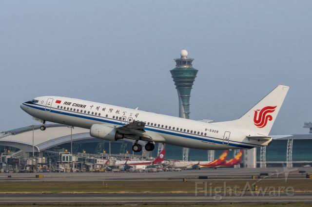 Boeing 737-800 (B-5328) - 2017年12月17日摄于广州白云国际机场