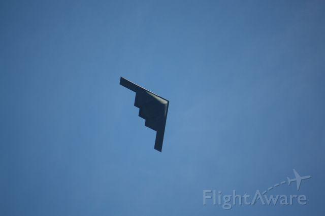 Northrop Spirit — - Leaving Rose Parade route to Whiteman AFB