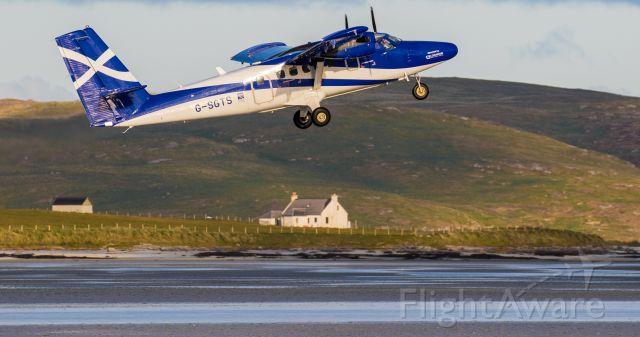De Havilland Canada Twin Otter (G-SGTS) - Very scenic!