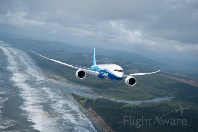 Boeing Dreamliner (Srs.8) (N787BA) - Boeing 787 Dreamliner - photo courtesy of The Boeing Company