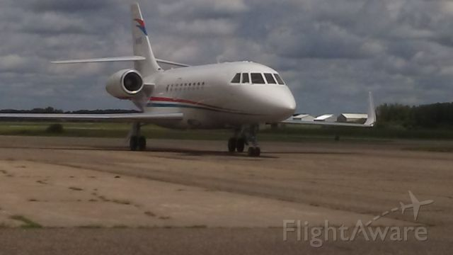 Dassault Falcon 2000 (N1HS) - N1HS F2TH
