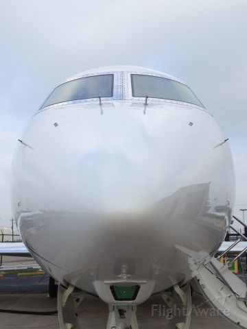 Gulfstream Aerospace Gulfstream IV — - She looks happy to see me!!