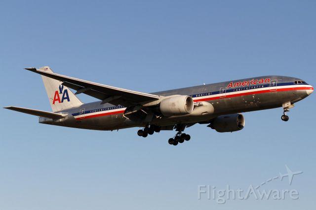 Boeing 777-200 (N797UA) - morning sun, N797AN, sorry!!
