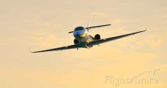 Hawker Siddeley HS-125-400 (N800VR) - Photo taken on flyover in Turks & Caicos
