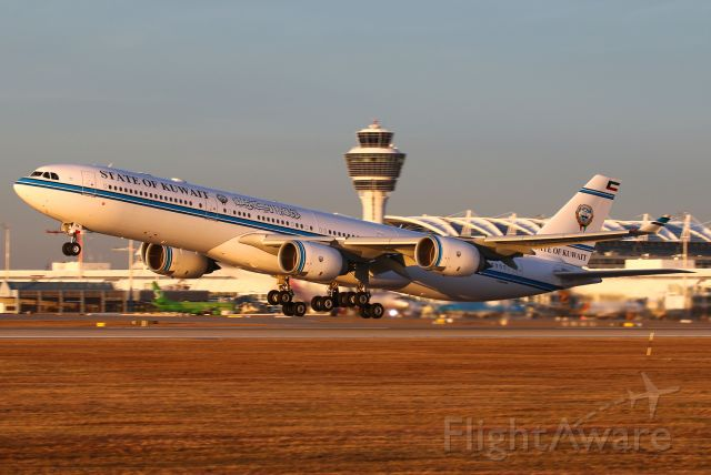 Airbus A340-500 (9K-GBA)