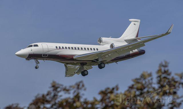 Dassault Falcon 7X (N577CF) - Runway 20R arrival @KDPA.