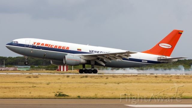 Airbus A300F4-200 (YV562T) - Arrival from Bolivia!