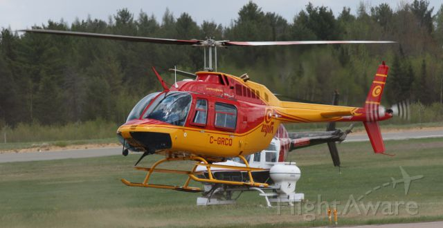 C-GRCQ — - Two helicopters!