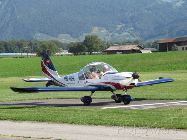 HB-WAC — - Evektor-Aerotechnik EV-97 Eurostar. Cute little plane for two.