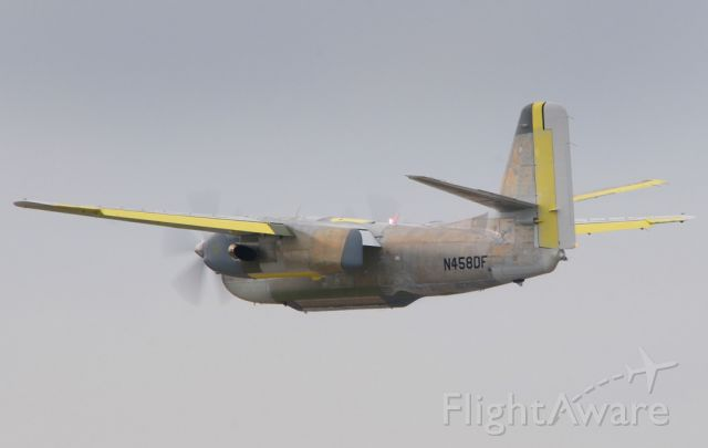 N458DF — - Tanker 79 first flight test at Sacramento McClean field (KMCC)