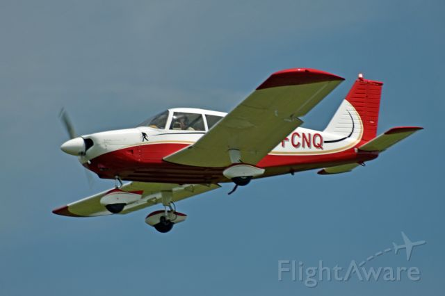 Piper Cherokee (C-FCNQ) - 1968 Piper PA-28-180 Cherokee (C-FCNQ/28-4656) arriving from Gatineau/Ottawa Executive Airport (CYND) and lined up for final on runway 27 on June 6, 2021