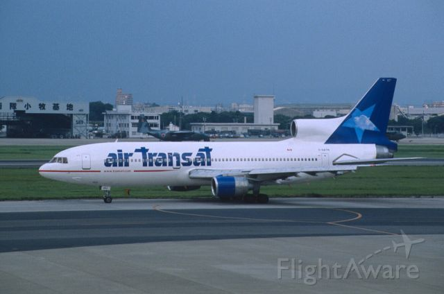 Lockheed L-1011 TriStar (C-GATM) - Taxing at Nagoya Intl Airport on 2001/08/13