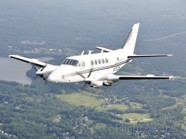 Beechcraft King Air 100 (N3536) - Photo courtesy of George Haines.