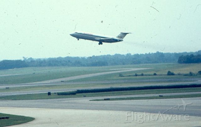 British Aerospace BAC-111 One-Eleven — - Allegheny Airlines BAC-111 lifting off of runway 15R at KBWI, circa 1968-70