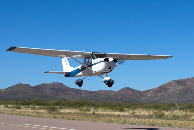 Cessna Commuter (N300YW) - MSK's first solo at Bisbee Arizona.