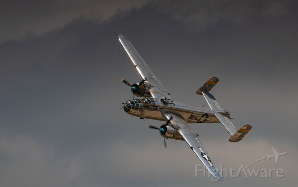 North American TB-25 Mitchell (N27493) - The Commemorative Air Force