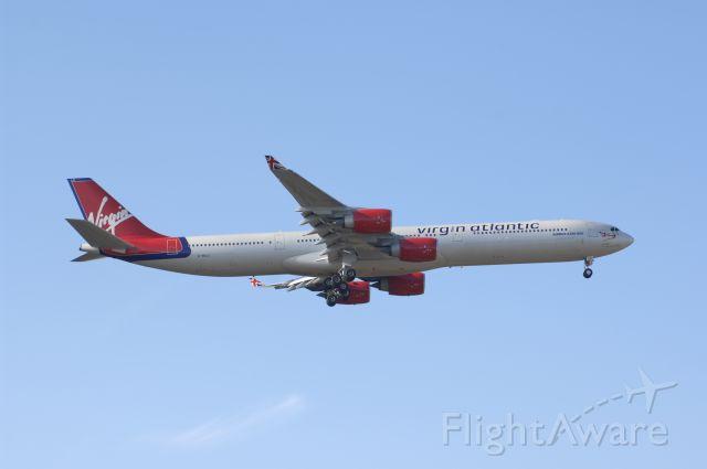 Airbus A340-600 (G-VBLU) - Final Approach to Narita Intl Airport R/W34L on 2007/11/23