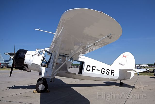 NOORDUYN UC-64 Norseman (C-FGSR) - Ground display at the 2016 Quinte Airshow.