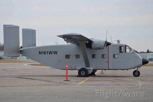 Short Skyvan (N161WW) - First flew at Belfast, Northern Ireland on June 27, 1971.