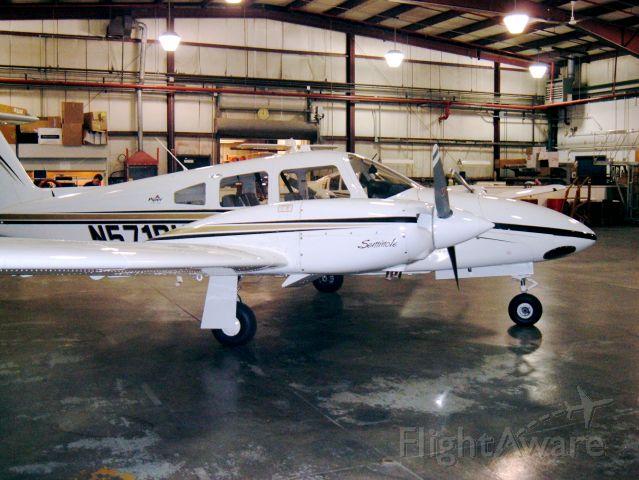 Piper PA-44 Seminole (N571PU) - Multi trainer at Purdue