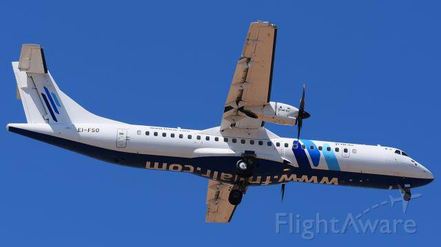 "Aerospatiale ATR-72-600 (EI-FSO) - ""FMI Air"""