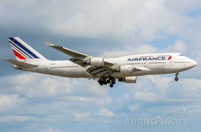 Boeing 747-400 (F-GITI) - Air France 747 F-GITI
