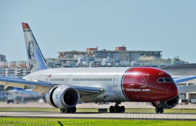 Boeing 787-8 (LN-LNA) - 3/20/2016