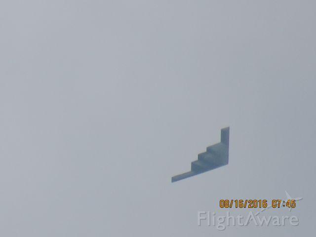 Northrop Spirit (88-0332) - Flying down the Kansas Missouri state line
