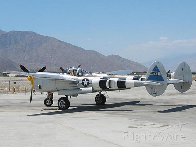 NX138AM — - On ramp at Palm Springs Air Museum