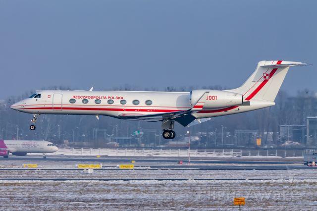 Gulfstream Aerospace Gulfstream V (0001) - Gulfstream G550 0001 Poland - Air Force