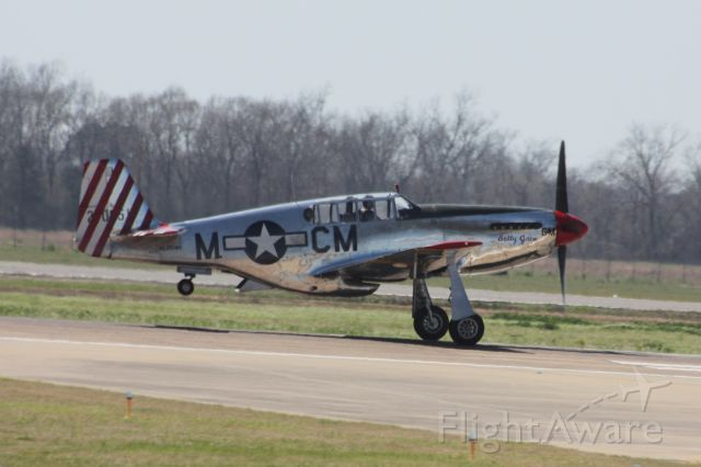 "North American P-51 Mustang — - Collings Foundation TP-51C ""Betty Jane"""