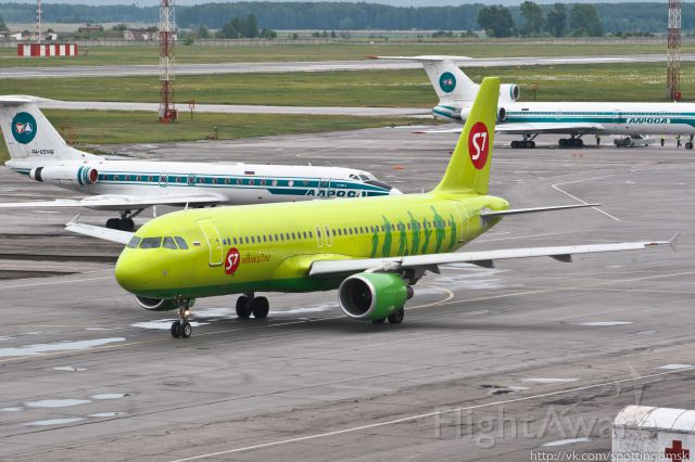 Airbus A320 (VQ-BET)