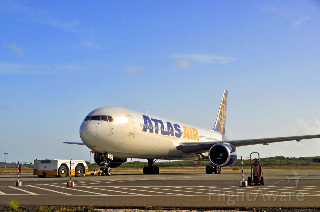 — — - Atlas Air B767 at Providenciales International Airport.