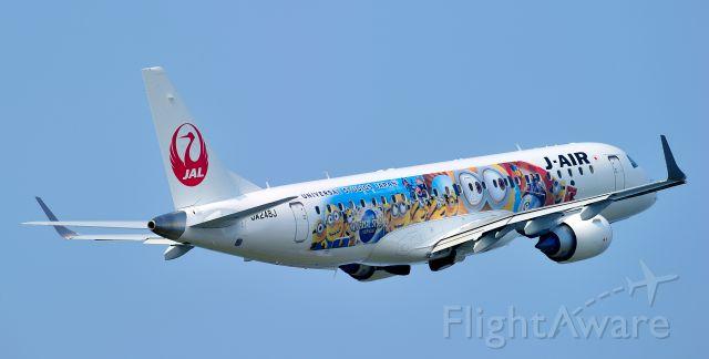 Embraer ERJ-190 (JA248J) - Specially Painted Aircraft JAL MINION JET