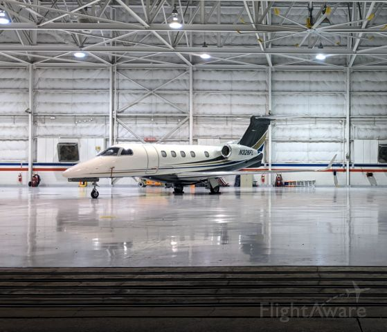 Embraer Phenom 300 (N326FL) - Chilling at Atlantic's Hangar