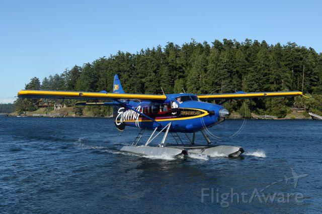 De Havilland Canada DHC-3 Otter (N50KA) - Turbine Otter in San Juan Islands, Washington.
