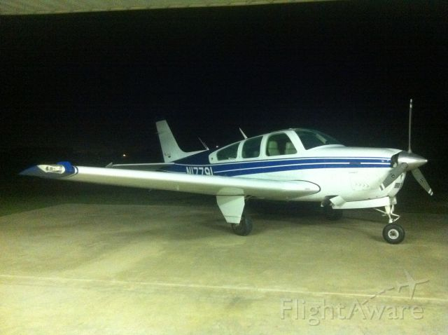 Beechcraft Bonanza (33) (N17791) - After a hard days work