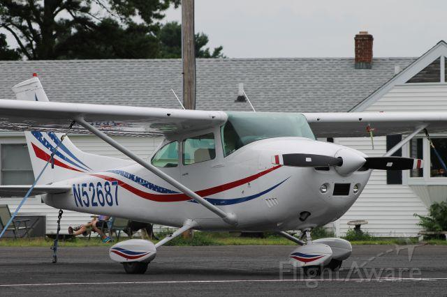 Cessna Skylane (N52687) - Parked at the North ramp