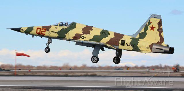 Northrop RF-5 Tigereye (76-1536) - An F-5N of NAWDC