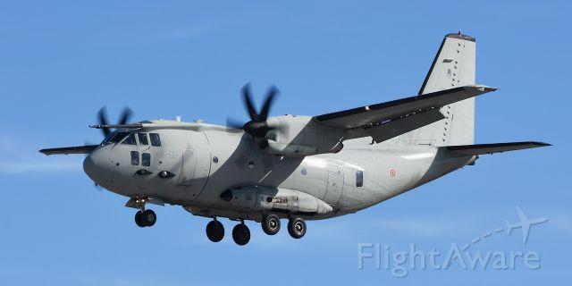 ALENIA Spartan (C-27J) (APJ62177) - C-27J Support aircraft landing RW34 at KSPM