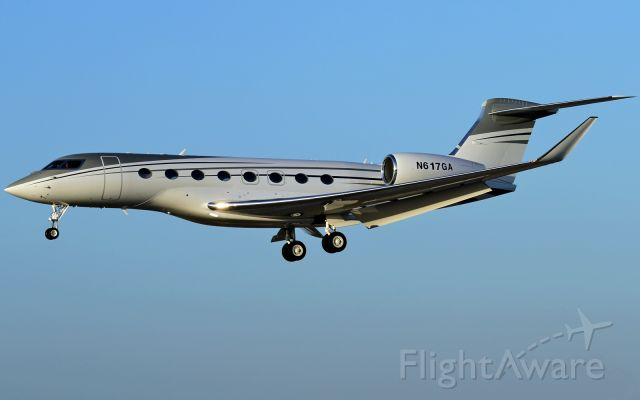 Dassault Falcon 20 (N617GA) - returning from a test flight to Long Beach Airport (lgb/klgb)