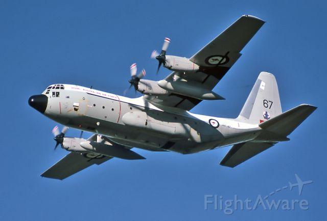 A97167 — - AUSTRALIA - AIR FORCE - LOCKHEED C-130E HERCULES (L-382) - REG : A97-167 (CN 382-4167) - EDINBURGH RAAF BASE ADELAIDE SA. AUSTRALIA - YPED (1/7/1982)