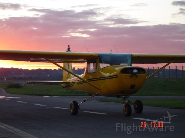 Cessna Commuter — - AEROMECANICA SRL.  Flight school, arriving hangar.