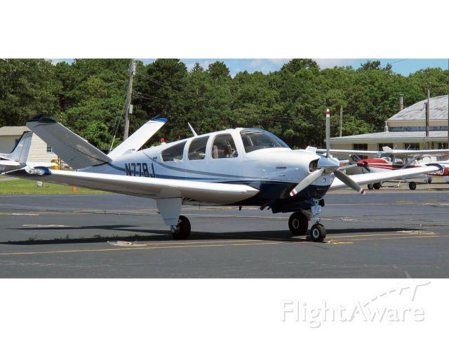 Beechcraft 35 Bonanza (N77BJ) - A VERY nice v-tail Boanaza.